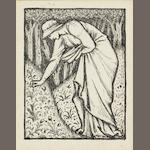 Sir Edward Coley Burne-Jones, Bt., ARA (British, 1833-1898) A design for the frontispiece to the Greek Anthology