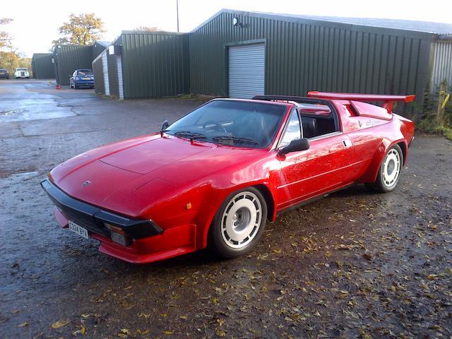 1985 Lamborghini Jalpa P350 Targa Coupé  Chassis no. ZA9Z00000FLA12199 Engine no. 12199