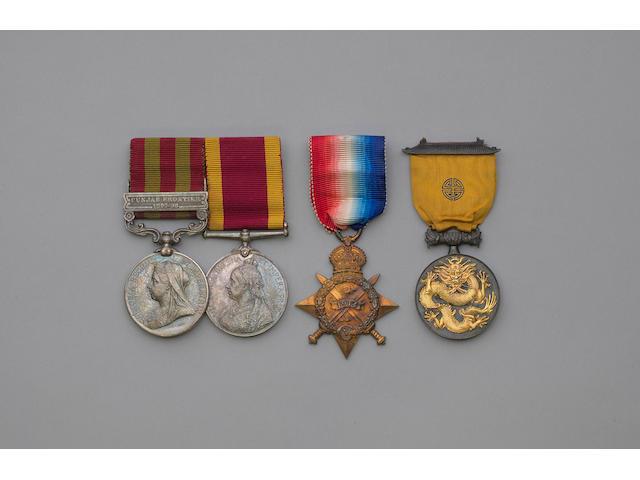 Four to Lieutenat Colonel A.J.Jamieson, Indian Army,