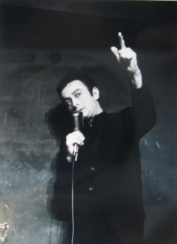 Lenny Bruce: Rare photographs, 1950s/1960s,
