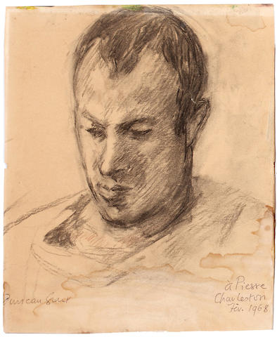 Duncan Grant, 3 portraits and 2 framed studies, on paper (5)