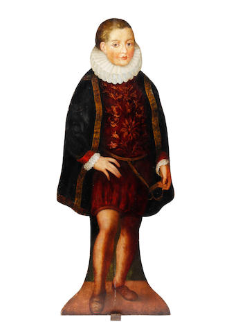 A dummy board model of a boy