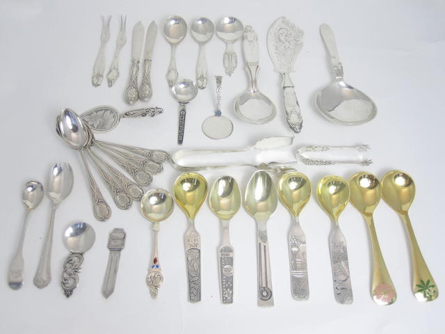 A collection of spoons