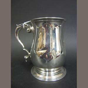 A George III silver baluster mug by John Swift, London 1762