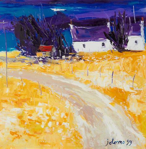 John Lowrie Morrison (British, born 1948) 'Kilchoan - Ardnamurchan'
