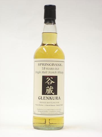 Springbank (Glenkura)-18 year old