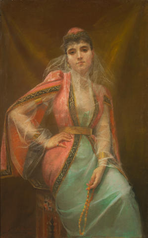 Henriette de Téhéran (French, active 1891-1892) Fiancée du Sultan