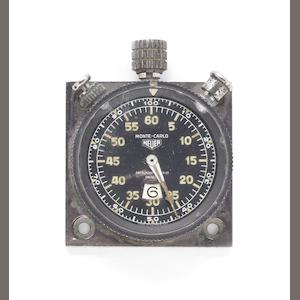 A Heuer Monte-Carlo dashboard laptimer/stopwatch sold by Abercrombie & Fitch,