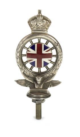 An RAC Full Member's badge, 1920s,