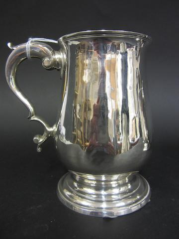 A George III silver baluster mug by Peter & Anne Bateman, London 1794