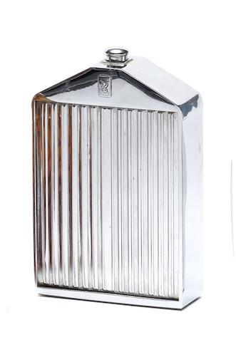 A Rolls-Royce radiator decanter by Ruddspeed, circa 1960,