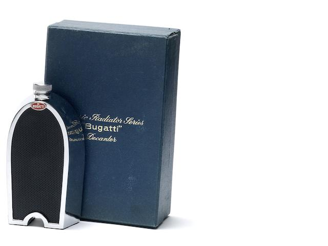 Bugatti Ruddspeed Classic radiator series decanter and original box