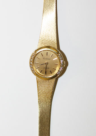 Certina: A lady's diamond set wristwatch