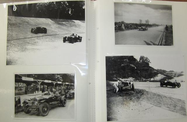 A good collection of monochrome images relating to the Alfa Romeo marque, 1920s-1950s,