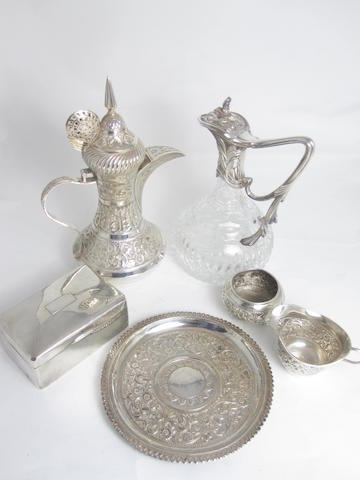 A small collection of silver various makers and dates