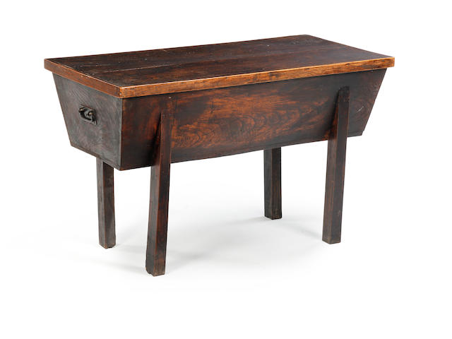 18th Century elm dough bin