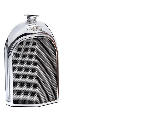 A Bentley radiator decanter by Ruddspeed, circa 1960,