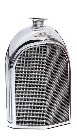 A Bentley radiator decanter by Ruddspeed, circa 1960,