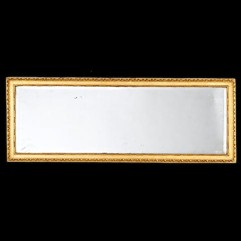 A 19th century giltwood landscape mirror in the George III style