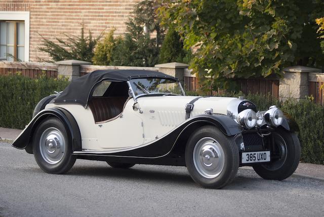 1948 Morgan 4/4 Sports  Chassis no. 1803