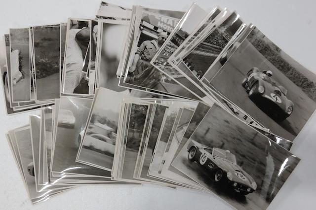 A quantity of original press photographs of the 1,000Km Race at Nurburgring, 1959 and 1960,