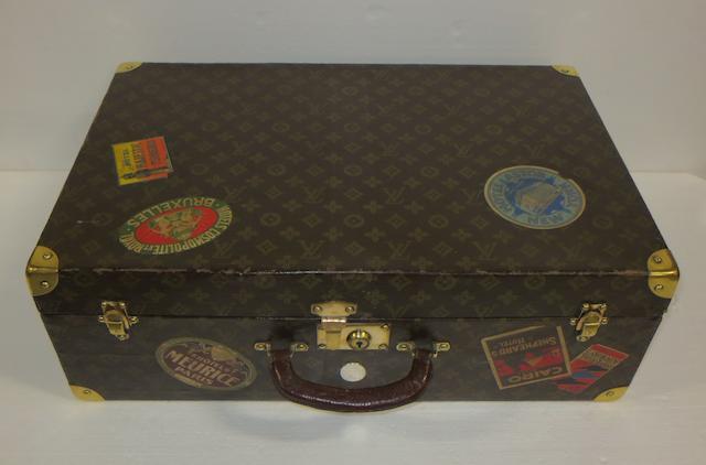 A 'lightweight' Louis Vuitton suitcase, circa 1920,