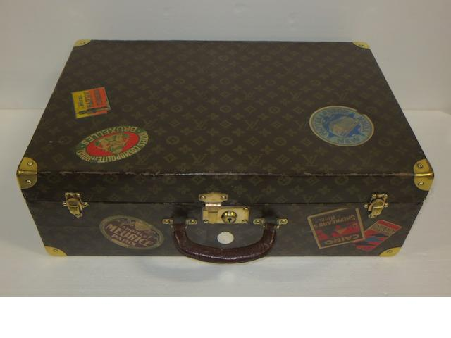 A 'lightweight' Louis Vuitton suitcase, circa 1920,