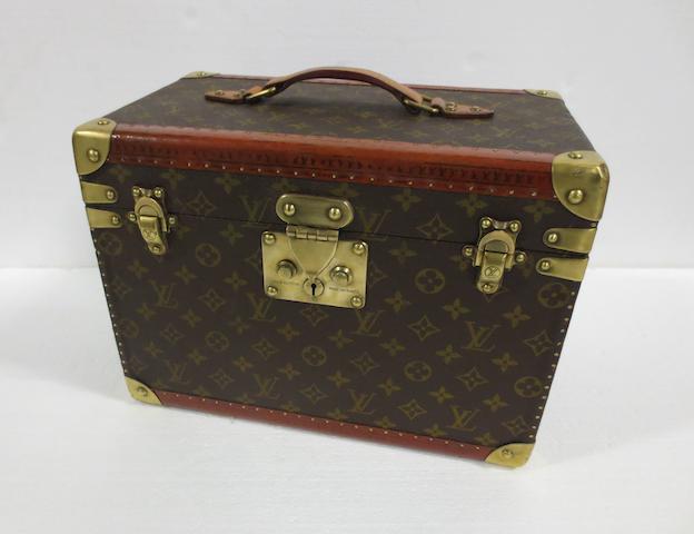 A post-War Louis Vuitton vanity case,