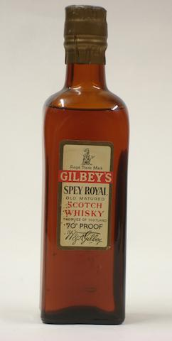 Gilbey's Spey Royal (half)