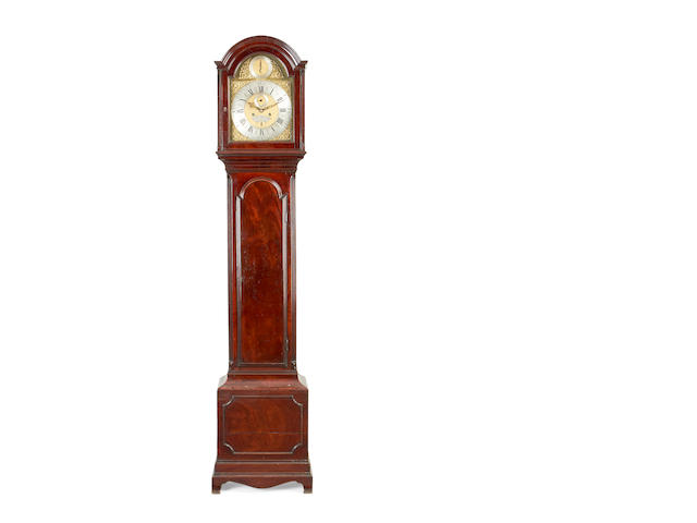 An early 19th century mahogany longcase clock Theo. Spendelow, Cambridge