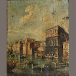 Continental School, 18th Century Venetian scene