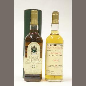 Glen Elgin-19 year old-1978.  Ledaig-21 year old-1973