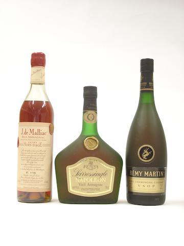 Bas Armagnac Extra Hors D'Age, Vieil Armagnac and Cognac (5)