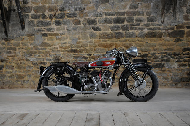 1935 Magnat Debon 750cc VMA 750cc v-twin frame no. 198868