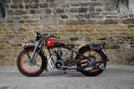 1930 Dollar 500cc S3 Engine no. 2593U