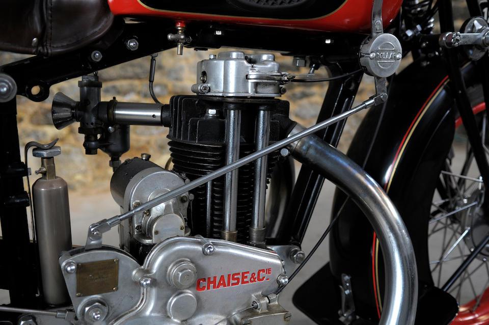 1930 Dollar 500cc S3 Frame no. 5693