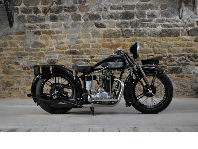 1927 Automoto 500cc AL11 Supersport Frame no. 51939 Engine no. 20194