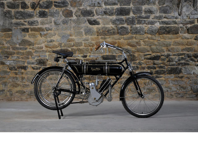 c.1921 Magnat Debon 250cc Frame no. 9512 Engine no. 2410