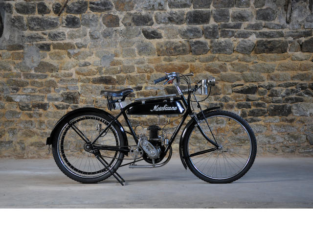 1925 Motobecane 175cc MB1 Frame no. 6210 Engine no. 26469