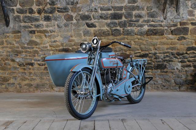 c.1921 Harley-Davidson 1000cc 18T v-Twin