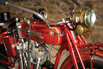 1917 Indian 7hp Powerplus Engine no. 87J948