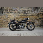 1950 Terrot 500cc RGST Frame no. 317489 Engine no. 309705
