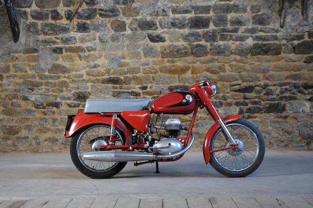 1963 Terrot 125cc ET Ténor Frame no. 501828 ET