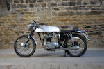 1967 Triumph 649cc T120 Bonneville Frame no. DU54500 Engine no. DU54500
