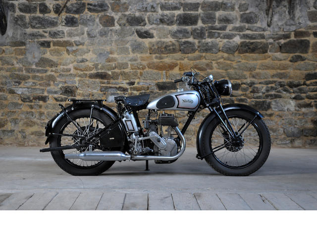 1938 Norton 500cc 16H Frame No. V81510 Engine No. W84180