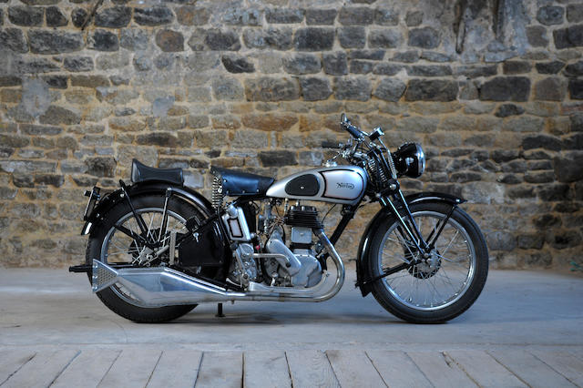 c.1937 Norton 597cc Big 4 Frame no. 709076 Engine no. 8204 (see text)