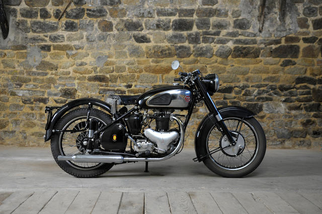 1952 BSA 646cc A10 'Golden Flash' Frame no. ZA7S 33512 Engine no. ZA10 16783
