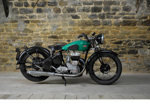 1951 BSA 500cc M20 Engine No. ZM207475