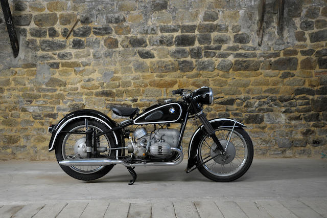 1953 BMW 494cc R51/3 (see text) Frame no. 614238 Engine no. 540477