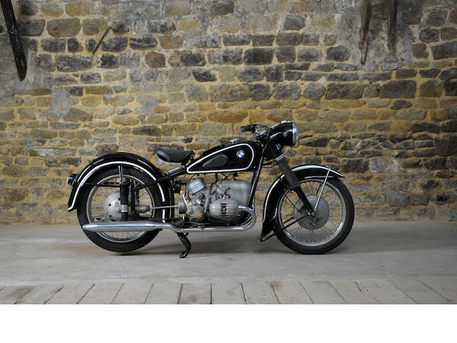 1953 BMW 500cc R51/3 Frame No. 614238 Engine No. 540477